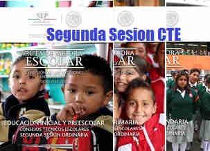 Segunda sesión de Consejo Técnico Escolar 30 octubre 2015