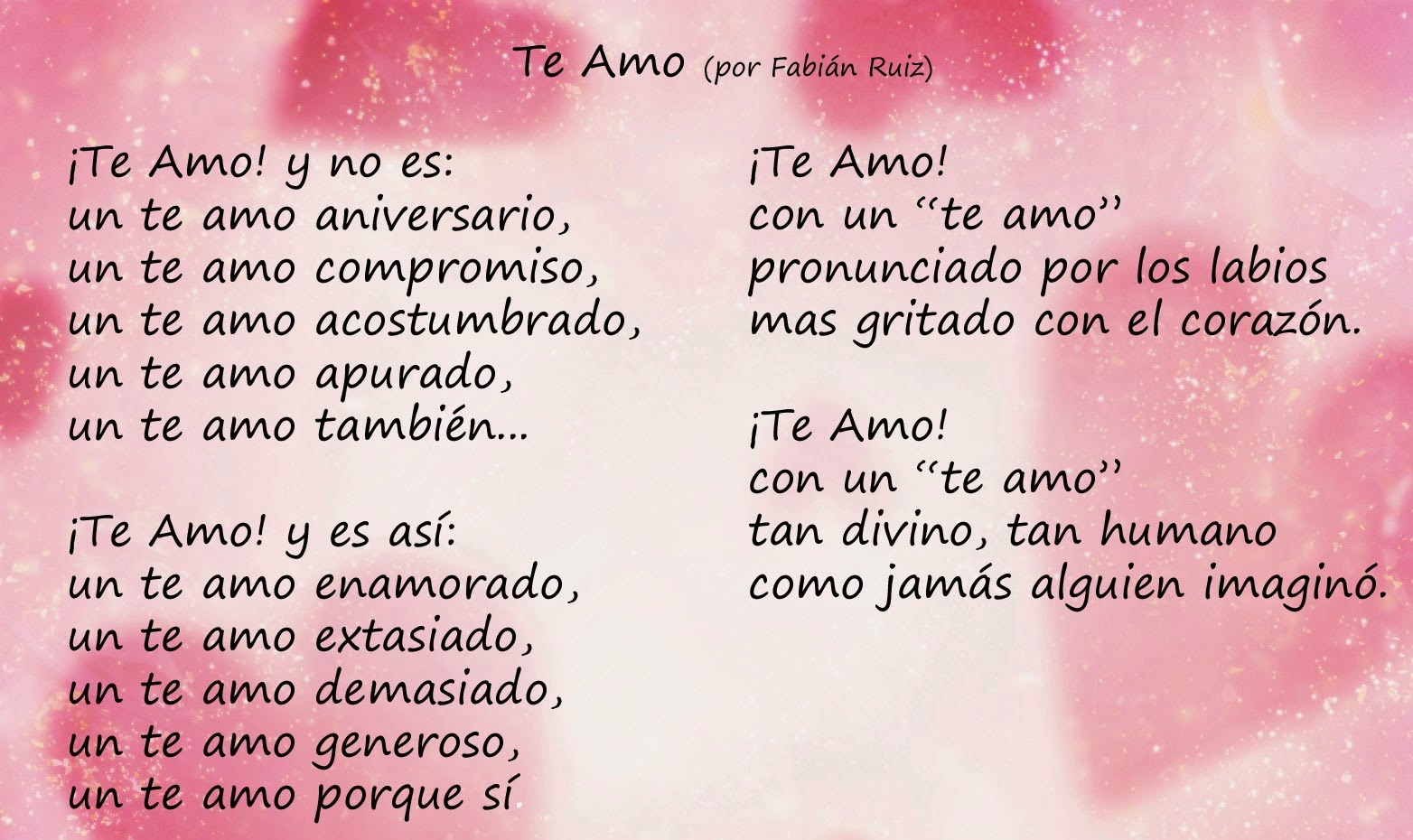 Frases bonitas del amor