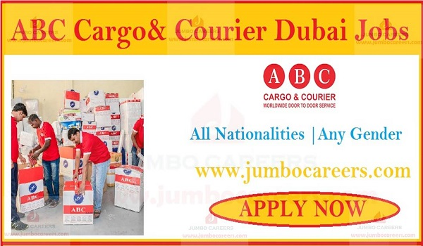 Available jobs in UAE, Courier company vacancies in Gulf countries,