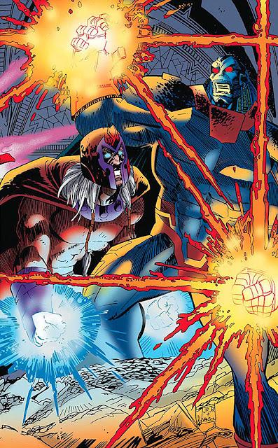 magneto vs apocalypse