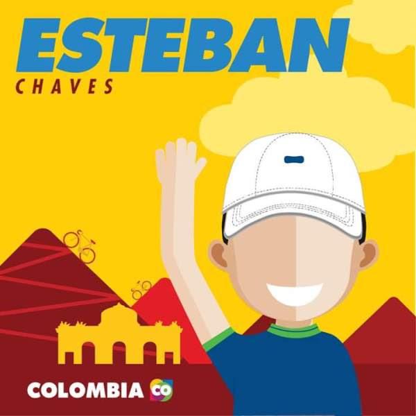 Esteban Chaves, Ciclismo, Vuelta España