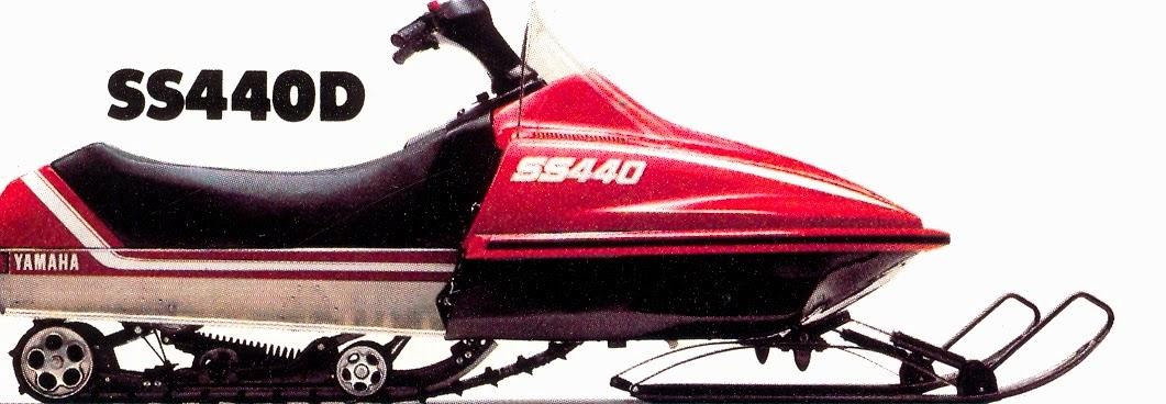 1980 Yamaha Snowmobile Models