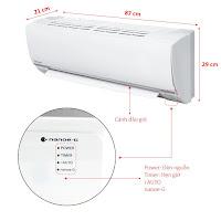 Máy lạnh Treo tường Panasonic 1HP
