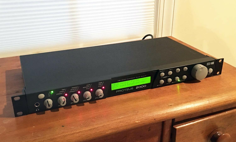 MATRIXSYNTH: E-MU Proteus 2000 Expandable Midi Sound Module