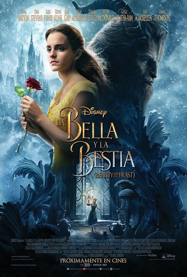 Cartel de La Bella y la Bestia 2017