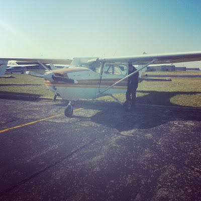 Joe Burlas earns his license in Cessna Skyhawk 172 N737YC on December 12 2012
