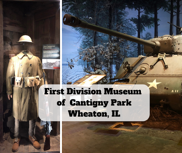 First Division Museum   of  Cantigny Park  Wheaton, IL