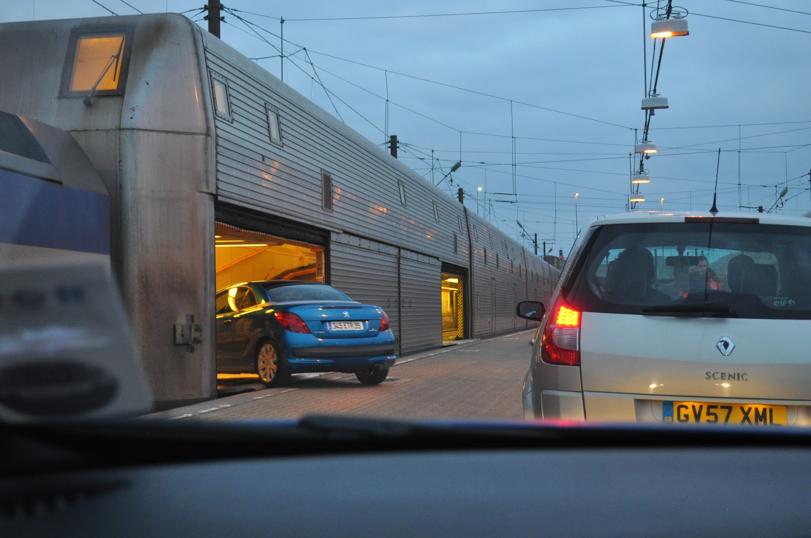 Oh The Places We Will Go England To France Via Eurotunnel