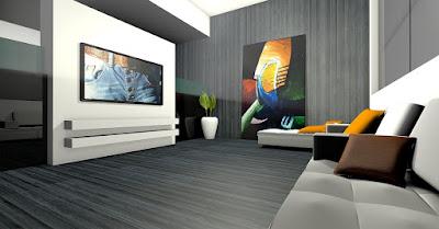 13 فكرة لغرف جلوس (معيشة) مودرن حديثة   Modern sitting room ideas