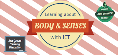 Learning about the body & senses with ICT