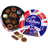 jubilee edition biscuits, cadburys
