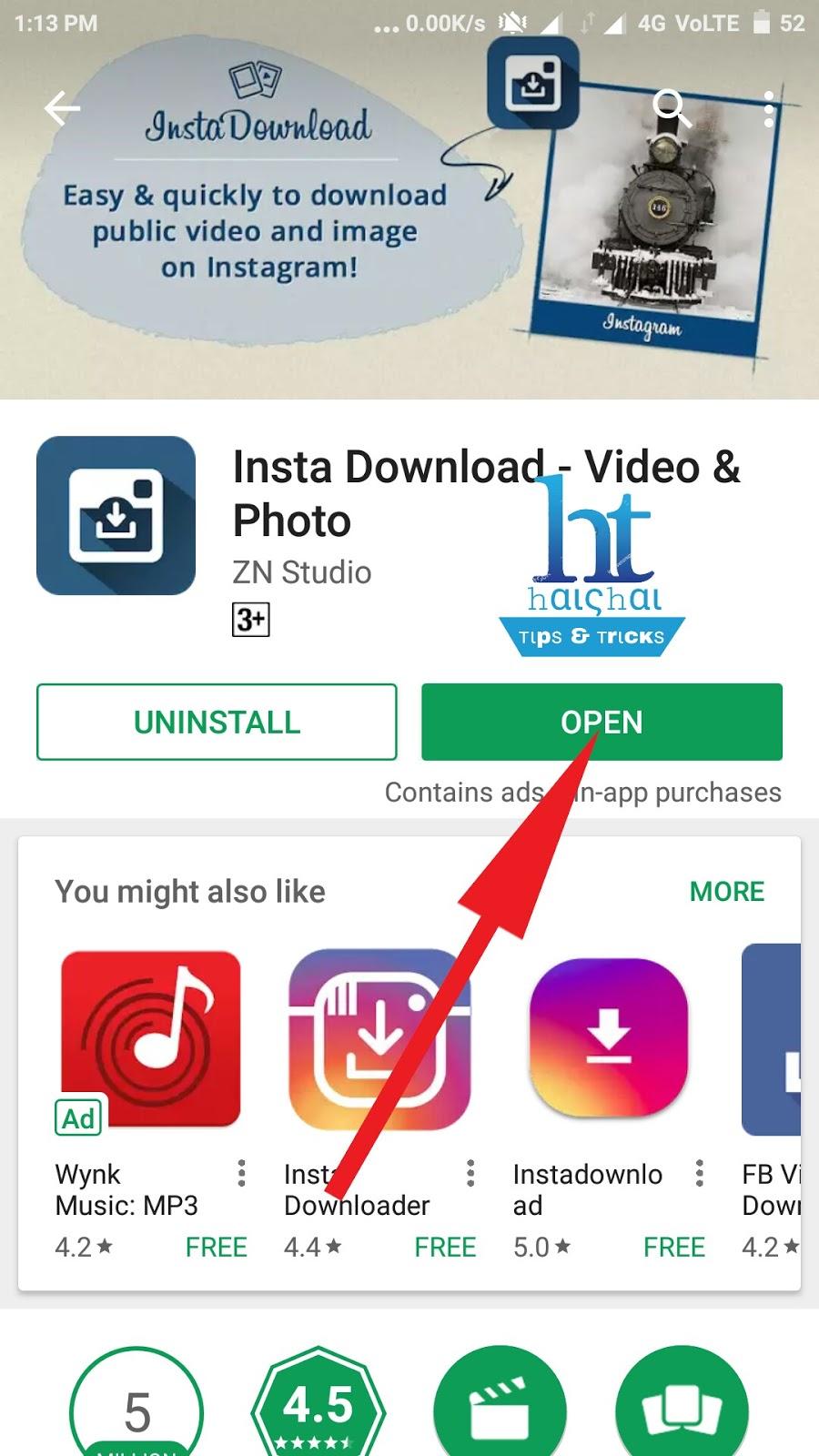 instagram app download for jio phone