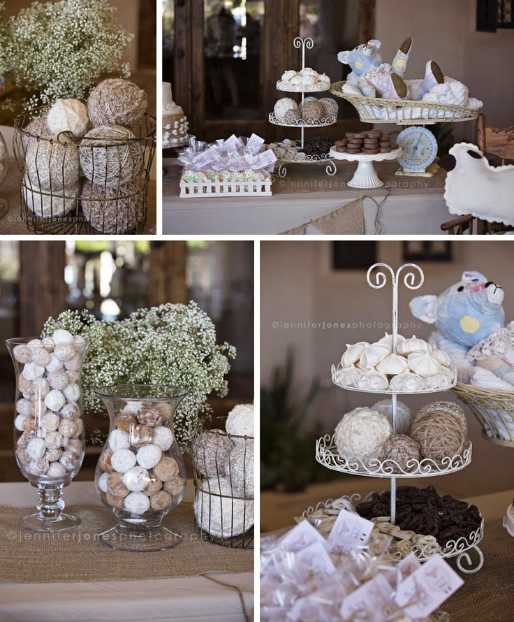 Neutral Baby Themes: Nat Your Average Girl...: Neutral Baby Shower Ideas