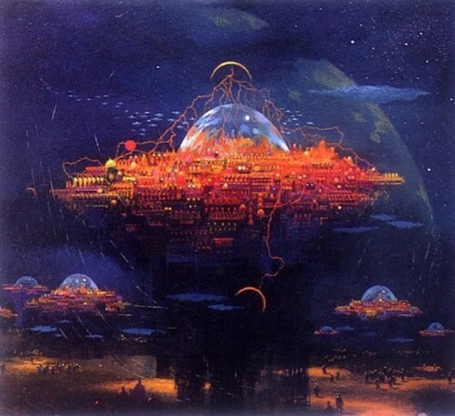 paul lehr scifi art
