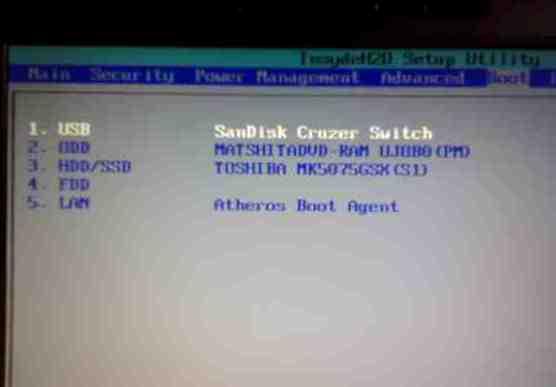 cara install windows 7 menggunakan flashdisk