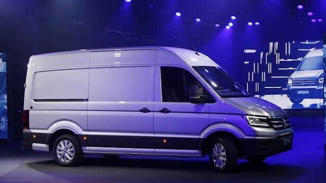 dieciocho ruedas nueva vw crafter van internacional del. Black Bedroom Furniture Sets. Home Design Ideas