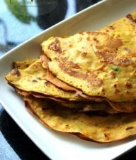 Spicy Egg Pancakes