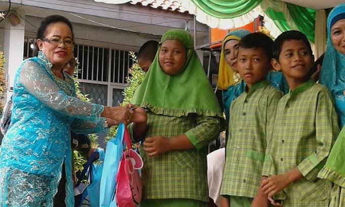 Jelang Ramadhan, Mekarjaya 26 Santuni Siswa Yatim