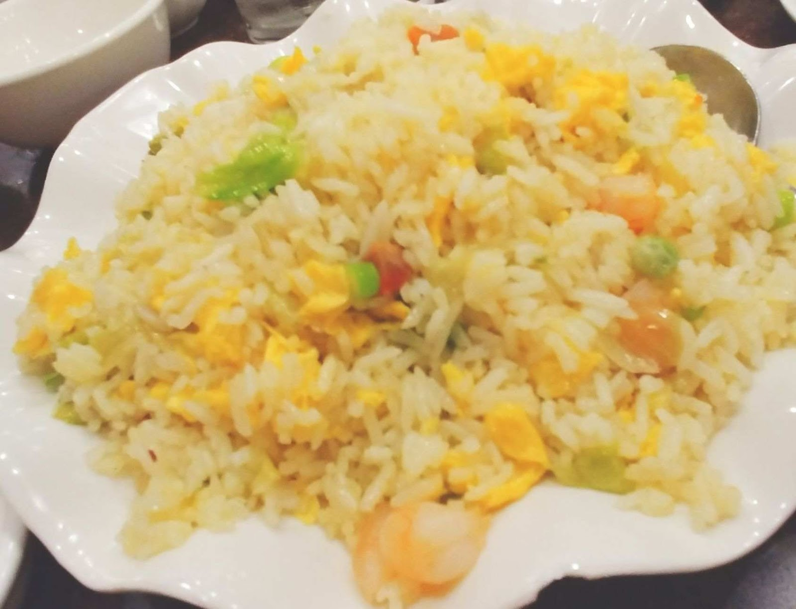 King Chef Dimsum Kitchen's yang chow fried rice