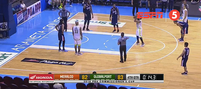 GlobalPort def. Meralco, 86-85 (REPLAY VIDEO) April 27
