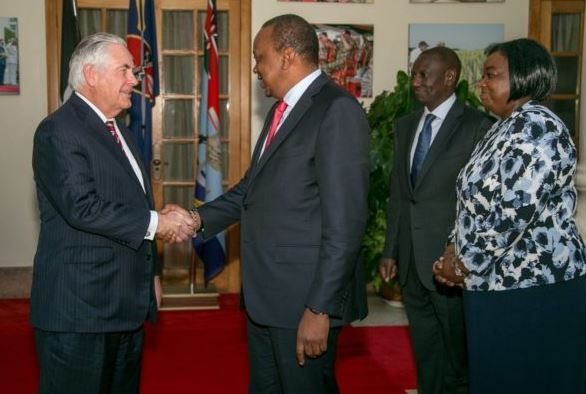 Tillerson US Secretary of State ill in Kenya (DETAILS)