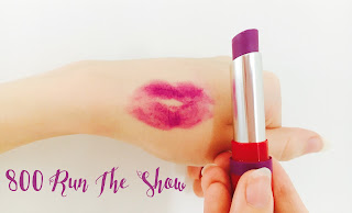 The Only One Matte Lipsticks Rimmel London 800 Run The Show