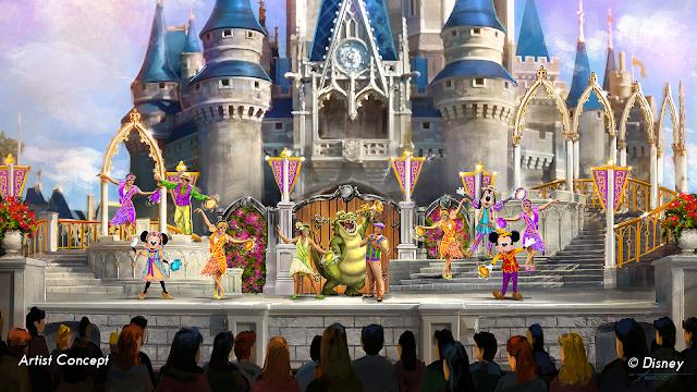 Magic Kingdom Mickey's Royal Friendship Faire