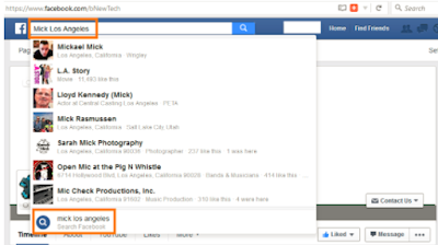 How Can I Facebook Search Profile On FB