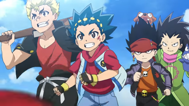 Beyblade Burst God