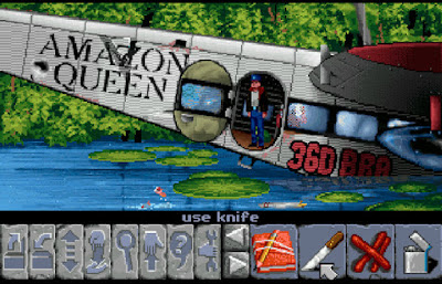 Videojuego Flight of the Amazon Queen