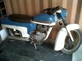 Dijual Motor Langka Norton Jubille 1961 Mesin 250cc