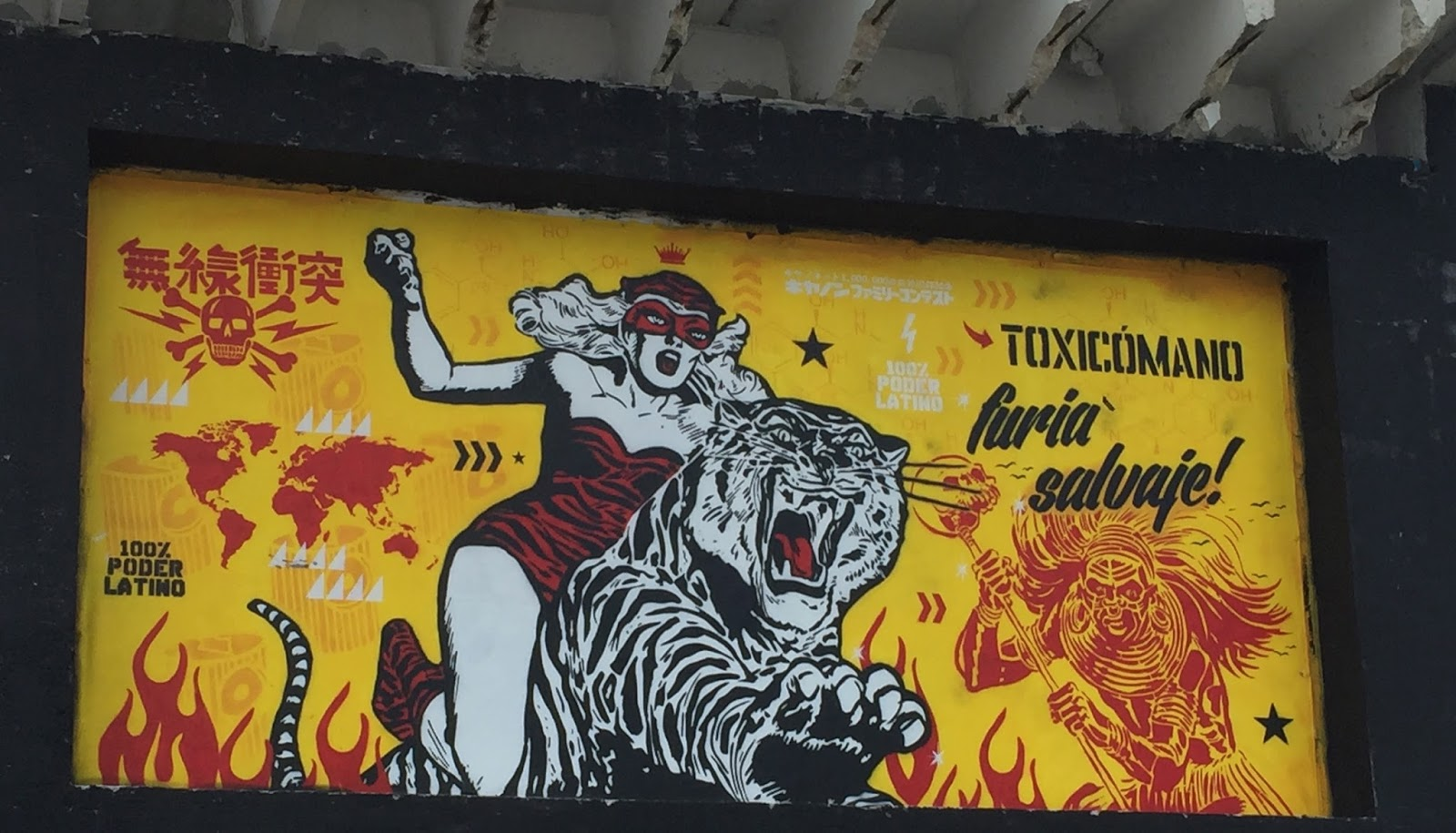 Frequent Traveler Ancestry: Miami Street Art Layover Part 2