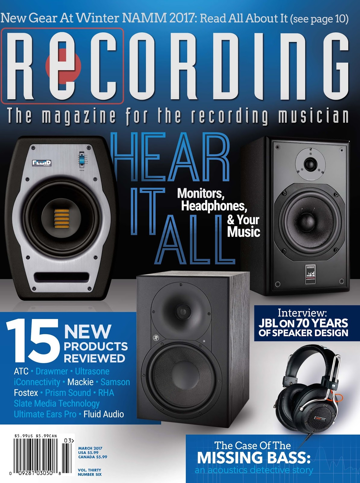 Pick of the Hits - JBL Professional by HARMAN, Recording