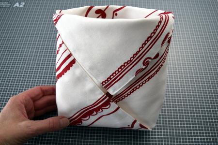 Retrofrischling Origami Beutel Tutorial