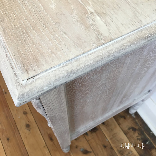 limed oak drawers: Lilyfield Life DIY instructions on how to achieve this look.