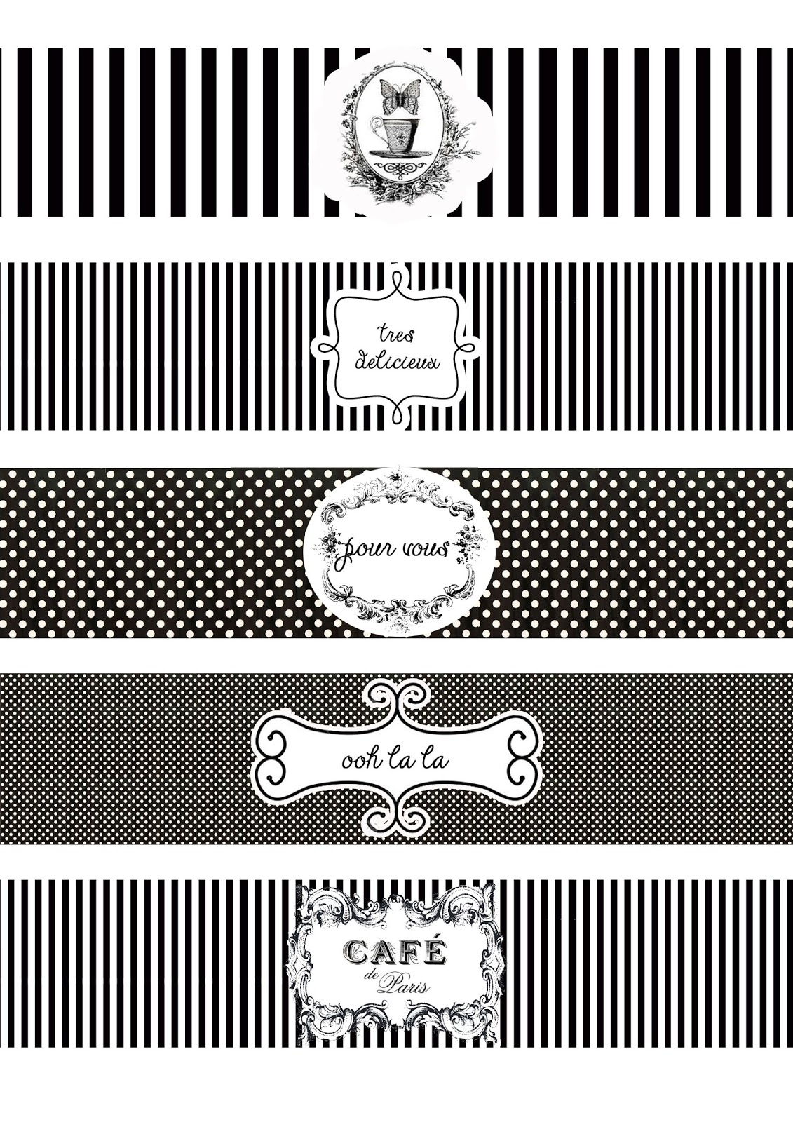 Great Fun Etc Ooh La La Paris Party Prep Amp Printables