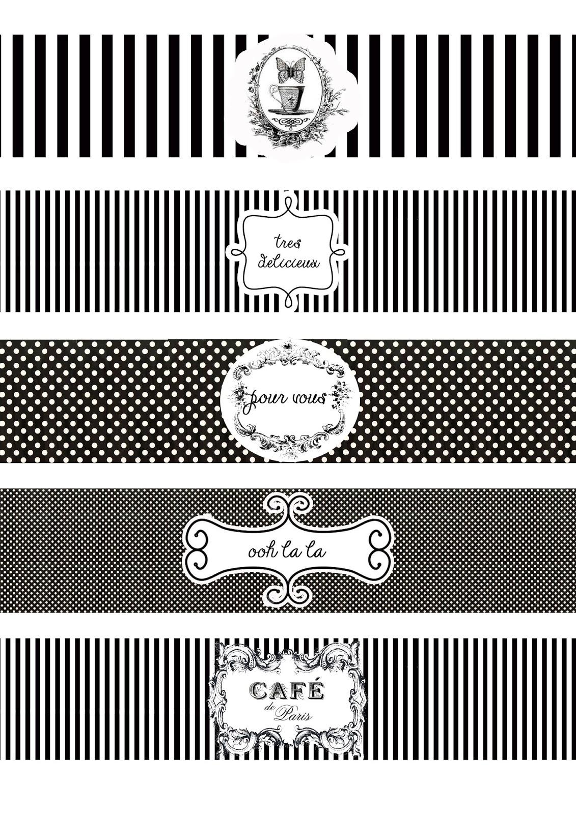 Great Fun Etc Ooh La La Paris Party Prep Amp Printables
