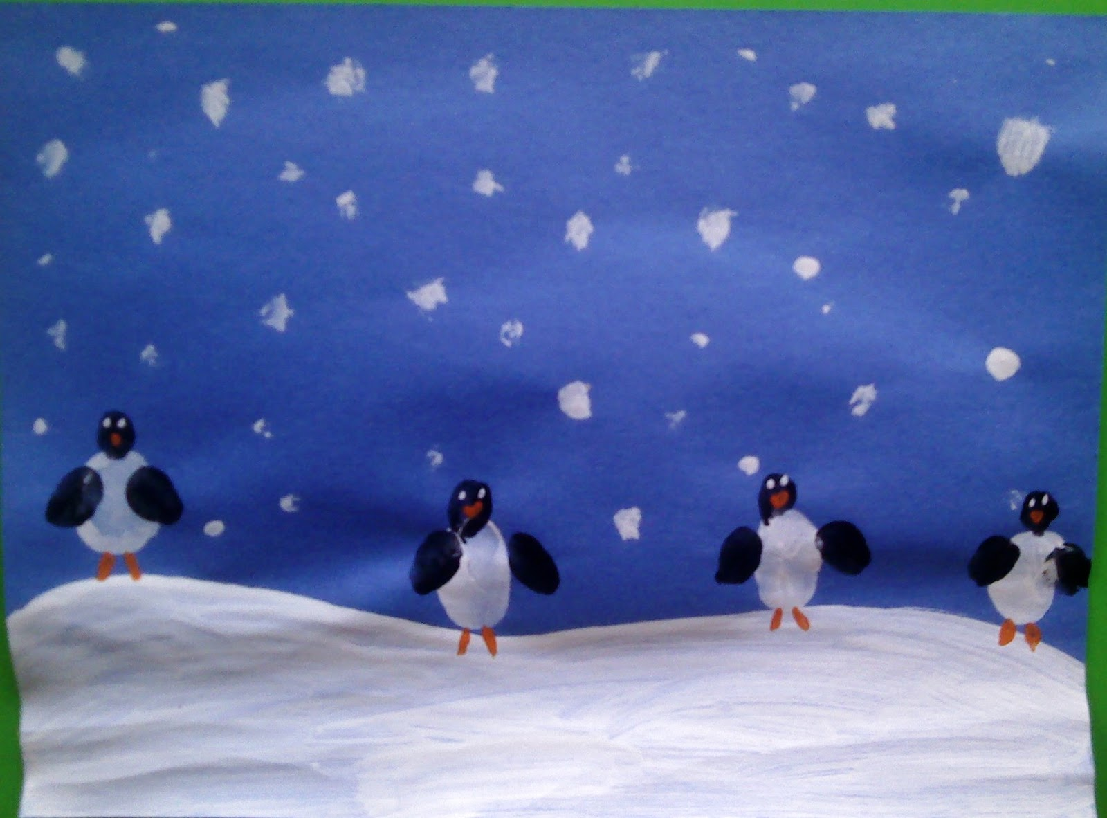 D Penguin Arts And Crafts