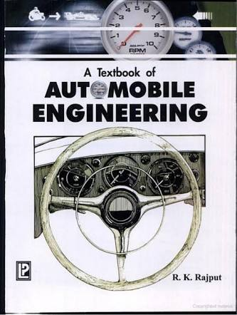 Download Automobile Engineering by R K Rajput Book Pdf Free