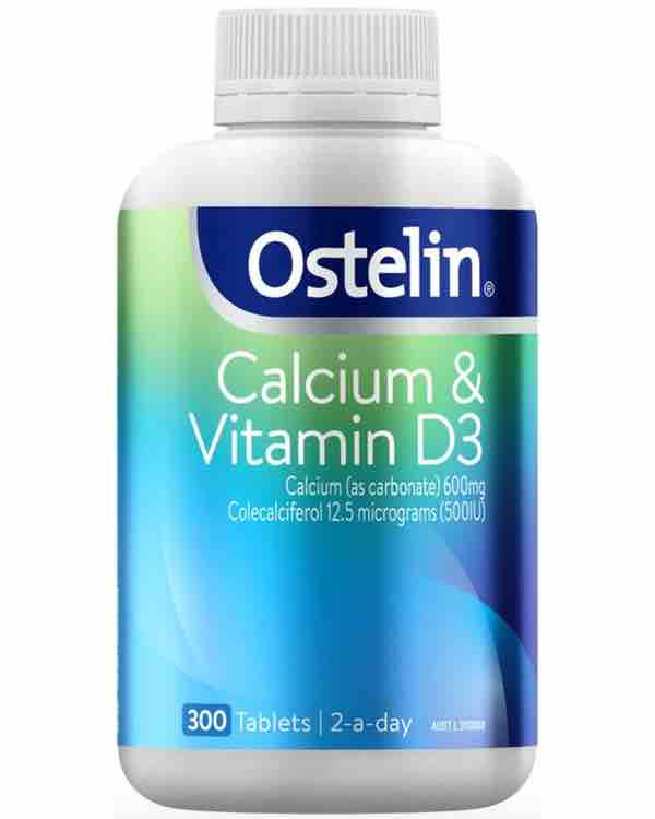 Ostelin Calcium & Vitamin D3 - hộp 300 viên