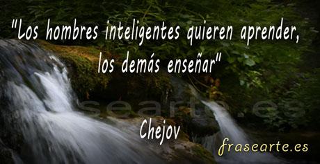 Frases célebres de Chejov