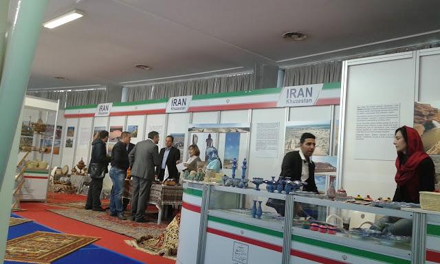 Štand Irana na sajmu turizma