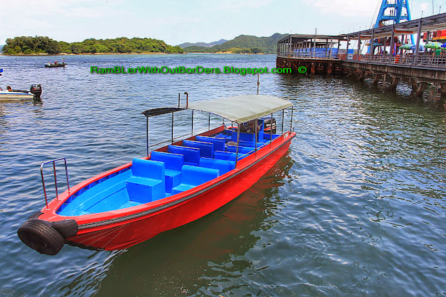 Boat for hire, Sai Kun Country Park, Hong Kong