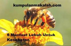 6 Manfaat Lebah Bagi Manusia dan Tumbuhan