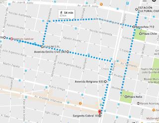Oeste de Mendoza no Google Maps (sem penitenciária)