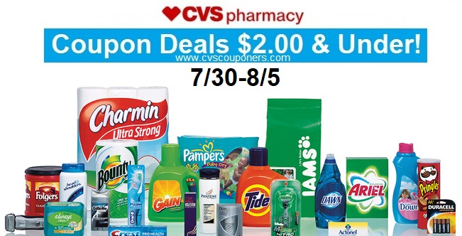 a8888c2e663 CVS Coupon Deals $2.00 & Under! (7/30-8/5) | CVS Couponers