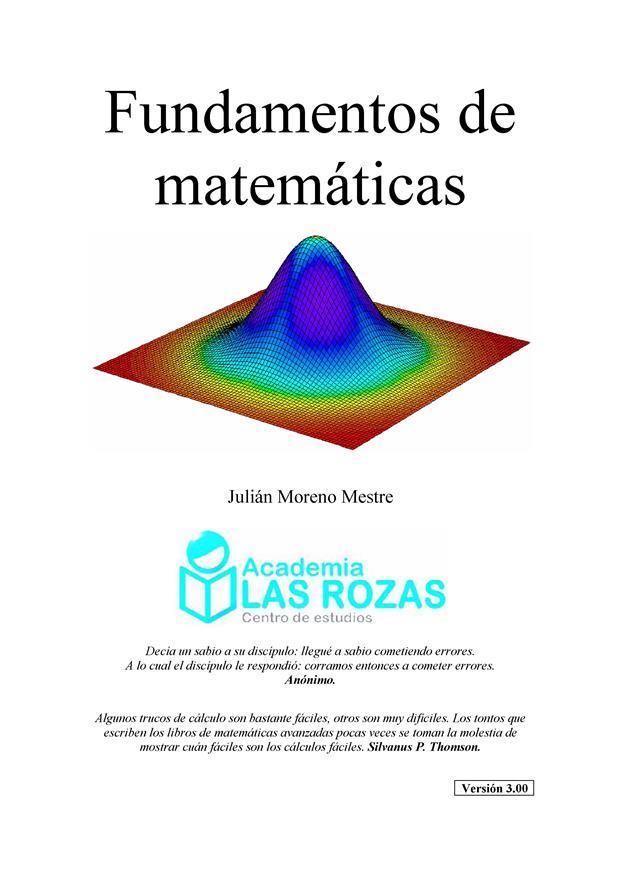 Fundamentos de matemáticas – Julián Moreno Mestre