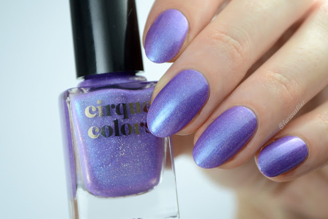 cirque colors happy monday swatch violet holo furious filer