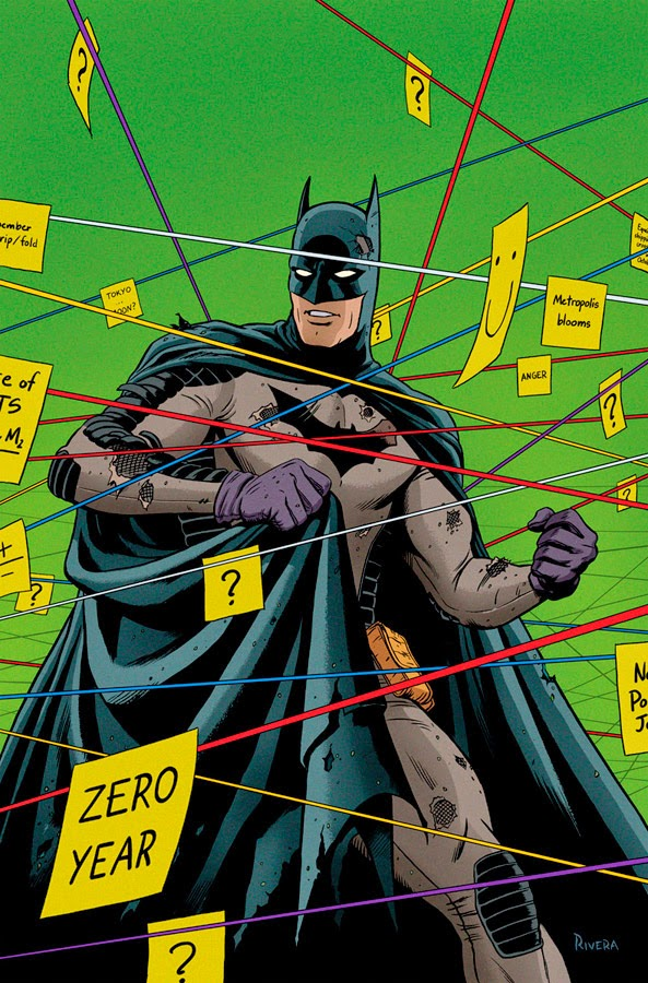 Fashion And Action Batman Zero Year Cover Variant Art By