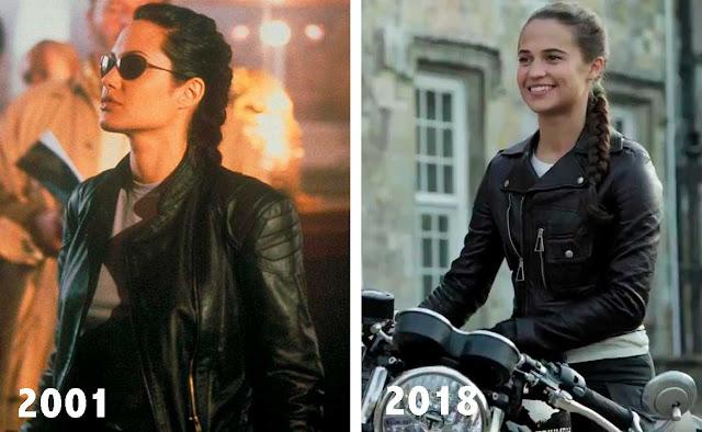 Angelina Jolie e Alicia Vikander